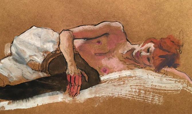FLESH AND BONES: LIFE DRAWING CLASS