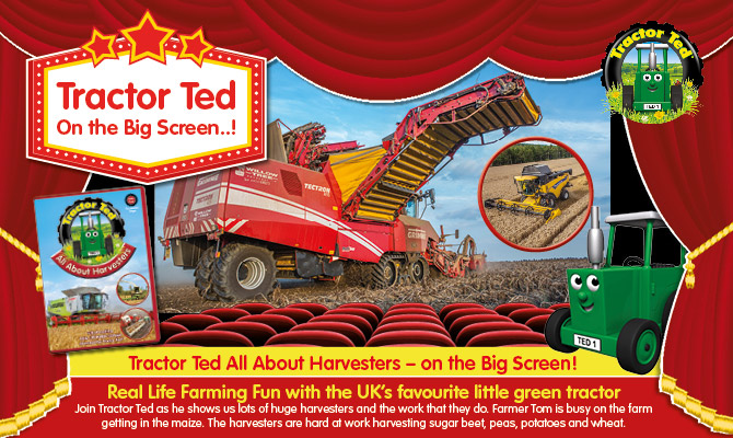 Tractor Ted - All About Harvesters