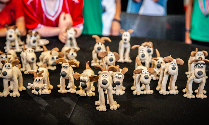 Aardman Model Making Workshops for Families