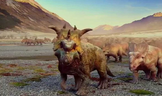 Walking with Dinosaurs Prehistoric Planet IMAX 3D