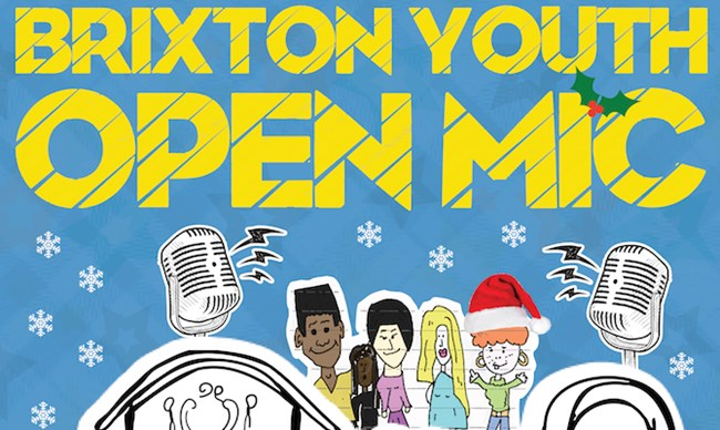 Brixton Youth Open Mic: Xmas Special!