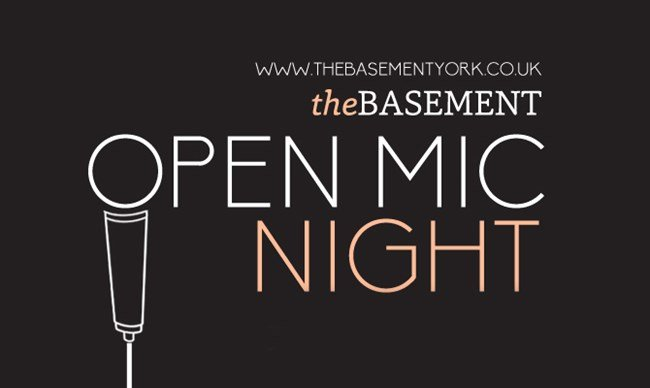 Basement Open Mic Night