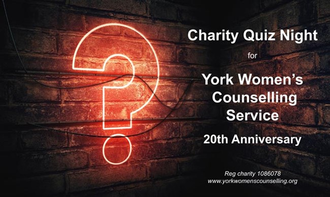 Charity Quiz Night For York Womens Counselling