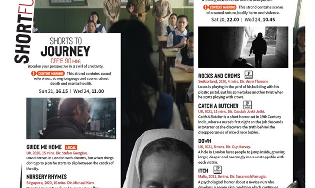 CFF40: Shorts to Journey